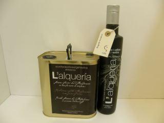ACEITE OLIVA VIRGEN EXTRA ALQUERIA alfafarenca organic
